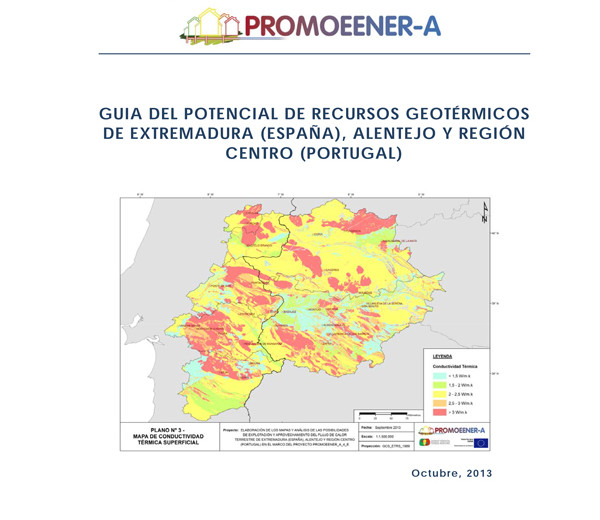 Guía del potencial de recursos geotérmicos de extremadura,alentejo y región centro