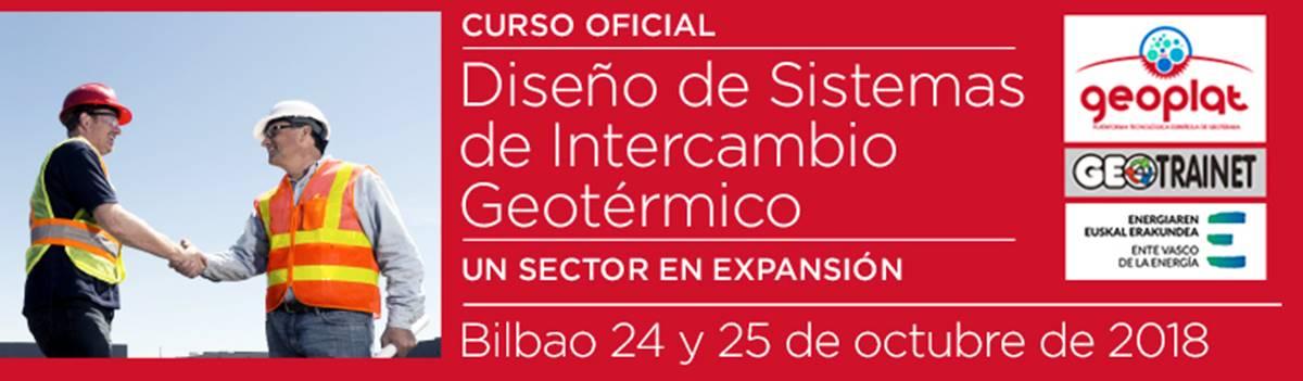GEOPLAT organiza en Bilbao la tercera edición del curso formación oficial en diseño de sistemas de intercambio geotérmico