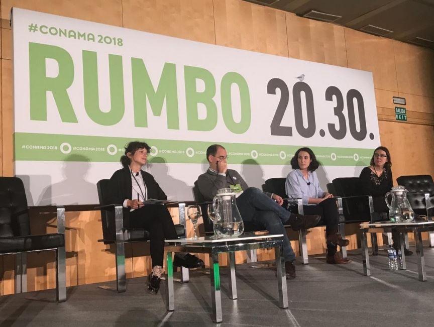 GEOPLAT inaugura la sesión técnica sobre energías renovables en la 14ª edición del Congreso Nacional del Medio Ambiente – CONAMA 2018