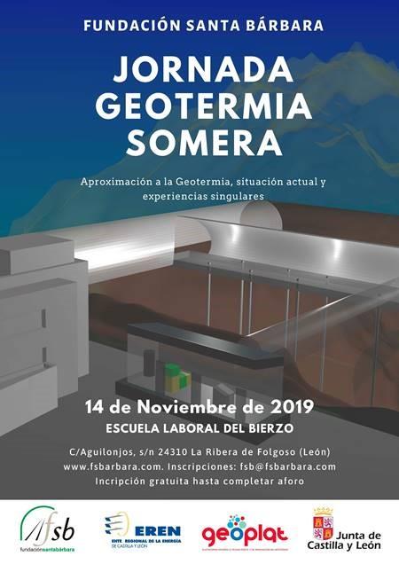GEOPLAT participa en la Jornada sobre Geotermia organizada por Fundación Santa Bárbara