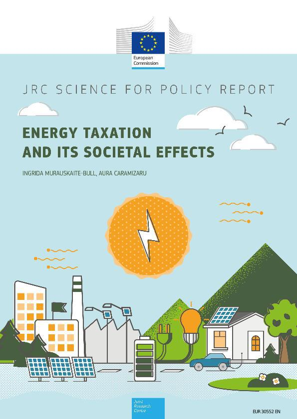 JRC – Energy taxation and its societal effects