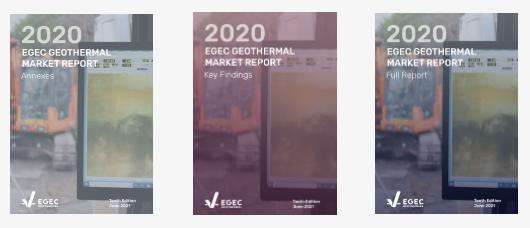 EGEC Geothermal Market Report 2020