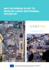 Why de-risking is key to develop large geothermal projects?
