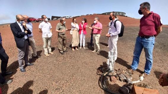El Cabildo de Lanzarote analiza con expertos cómo impulsar la energía geotérmica en la isla